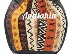 кресло мешок груша, материал оскфорд и испанский жаккард расцветка африка цвет черный