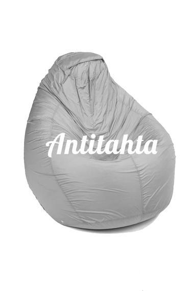 кресло груша мешок, материал оксфорд цвет однотонный серый