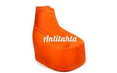 Кресло мешок банан из материала Оксфорд оранжевого цвета