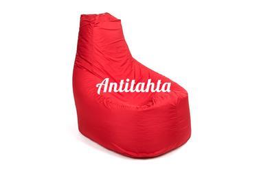 Кресло мешок банан из материала Оксфорд красного цвета