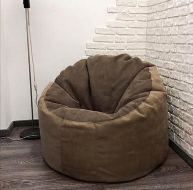 кресло мешок комфорт материал оксфорд цвет коричневый