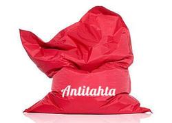 подушка из пенополистирола внутренний чехол красного цвета